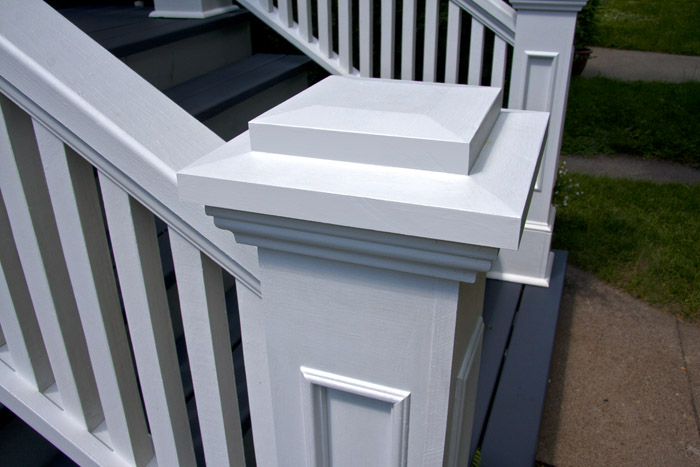 Edgewater Front Porch, Rails and Newel Posts « EDGEWATER WOODWORK