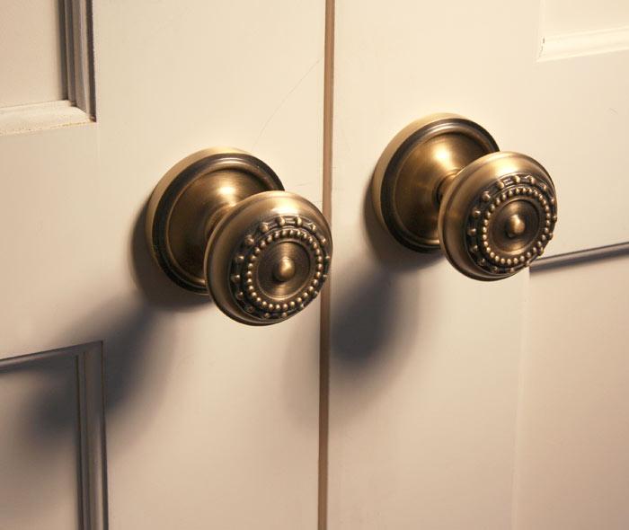 Closet Doors, Trim and Shelving