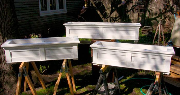Cedar Planter Boxes