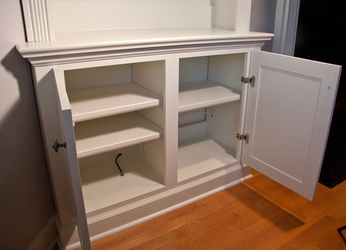 Built-In Bookcases and Cabinets