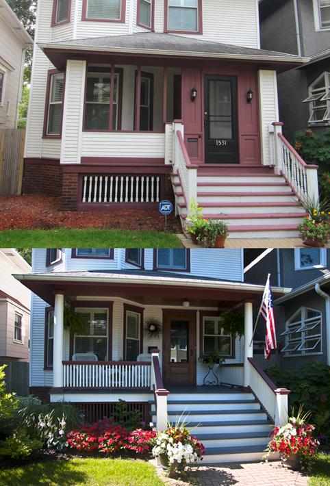 Edgewater Glen Front Porch Restoration