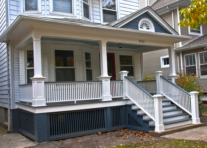 Front Porch Restoration