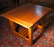 Quarter Sawn Oak Craftsman Tables